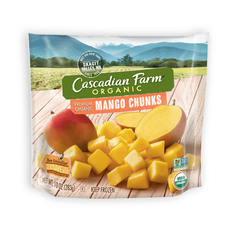 Cascadian Farm Frozen Mango Chunks package image