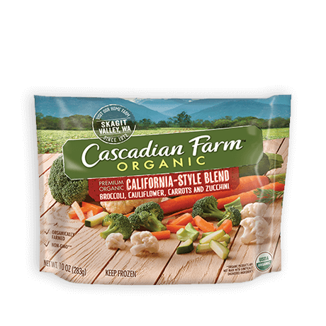 Cascadian Farm Organic Frozen California Style Blend