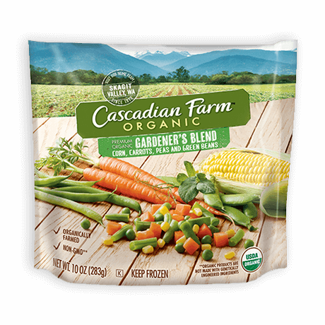 Cascadian Farm Organic Frozen Gardner's Blend Vegetables