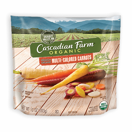 Cascadian Farm Organic Frozen Multi-colored Carrots
