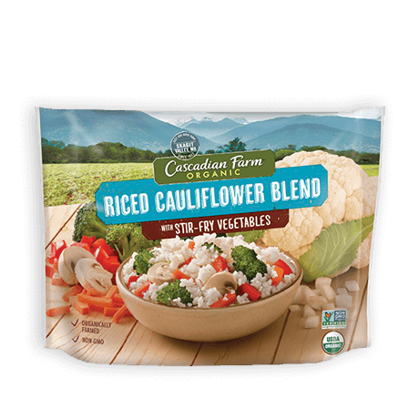 Cascadian Farm Organic Frozen Riced Cauliflower Stir-Fry Blend