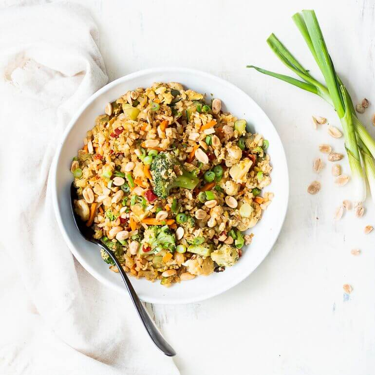 Cascadian Farm Organic Cauliflower Fried Rice Recipe