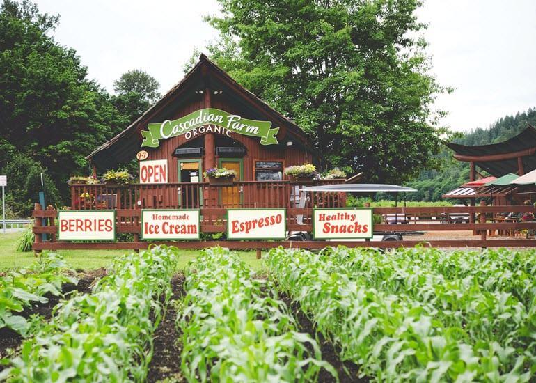 Cascadian Farm Organic Home Far Washington